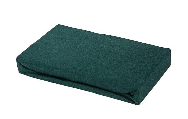 spannbettlaken spannleintuch spannbetttuch jersey 90 x 190 dunkelgr n handt cher duscht cher. Black Bedroom Furniture Sets. Home Design Ideas