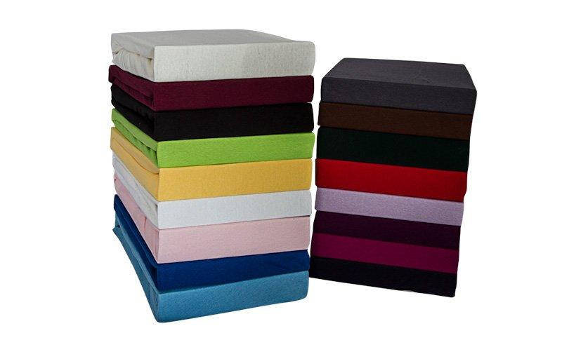 spannbettlaken spannleintuch spannbetttuch jersey 180 x 200 200 x 200 royalblau handt cher. Black Bedroom Furniture Sets. Home Design Ideas